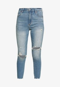 Abercrombie & Fitch - Jeans Skinny Fit - med destroy - 4