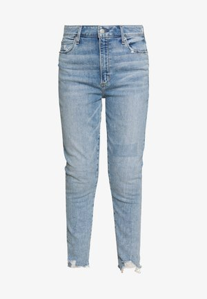 LIGHT BELT CURVE LOVE - Jeans slim fit - light-blue denim