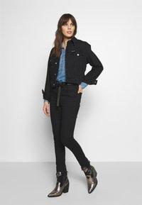 Abercrombie & Fitch - Skinny džíny - black - 1