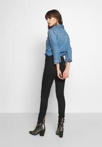Abercrombie & Fitch - Skinny džíny - black - 2
