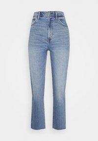 Abercrombie & Fitch - CLEAN CURVE  - Straight leg jeans - light-blue denim - 0