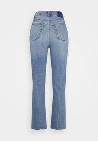 Abercrombie & Fitch - CLEAN CURVE  - Straight leg jeans - light-blue denim - 1