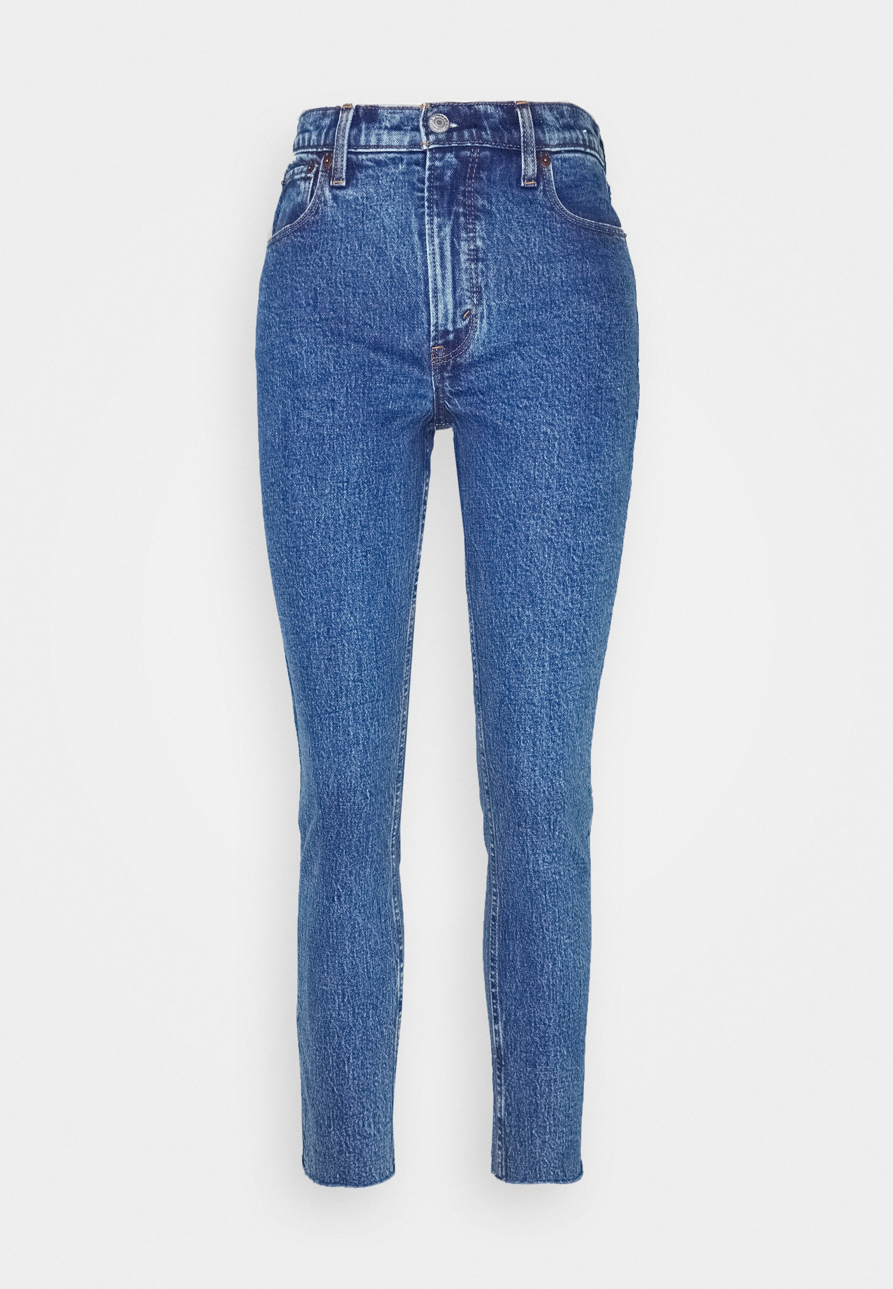 Abercrombie & Fitch Dark Marbled - Jeans Skinny Fit