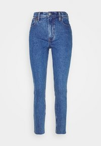 Abercrombie & Fitch - DARK MARBLED - Jeans Skinny Fit - dark marbled - 3