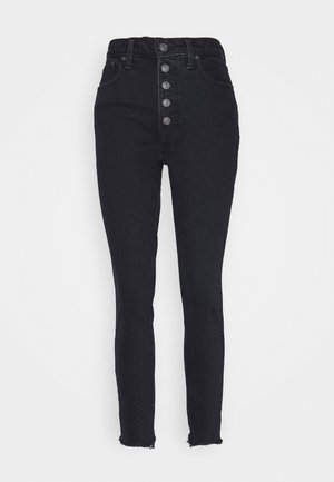 SHANK CURVE - Skinny džíny - black