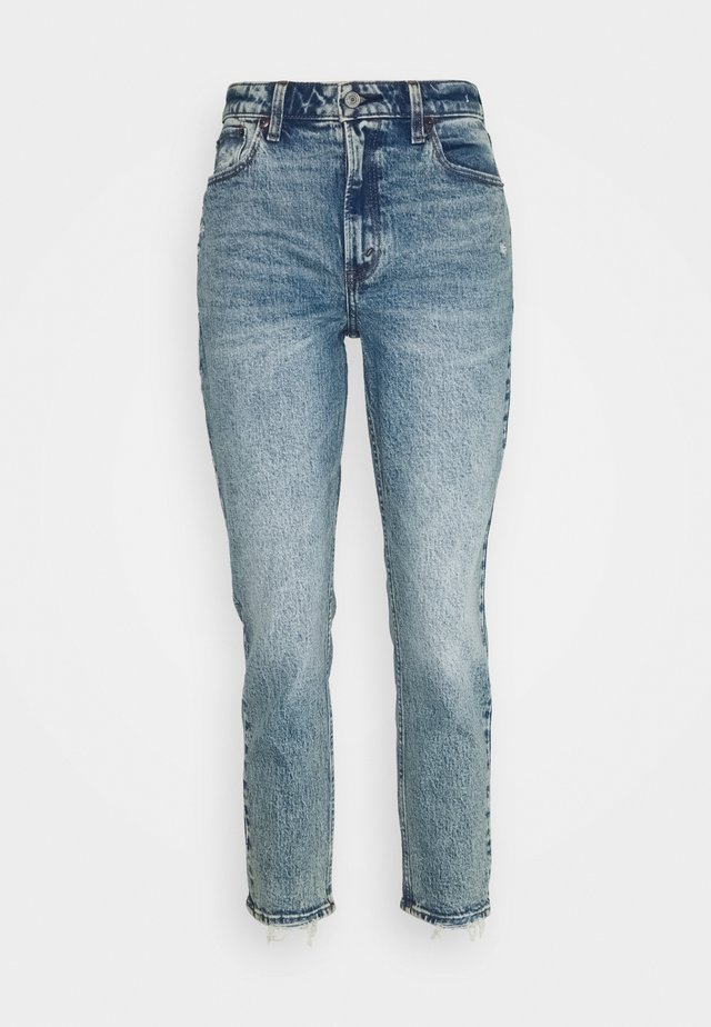 Slim fit jeans - medium destroy