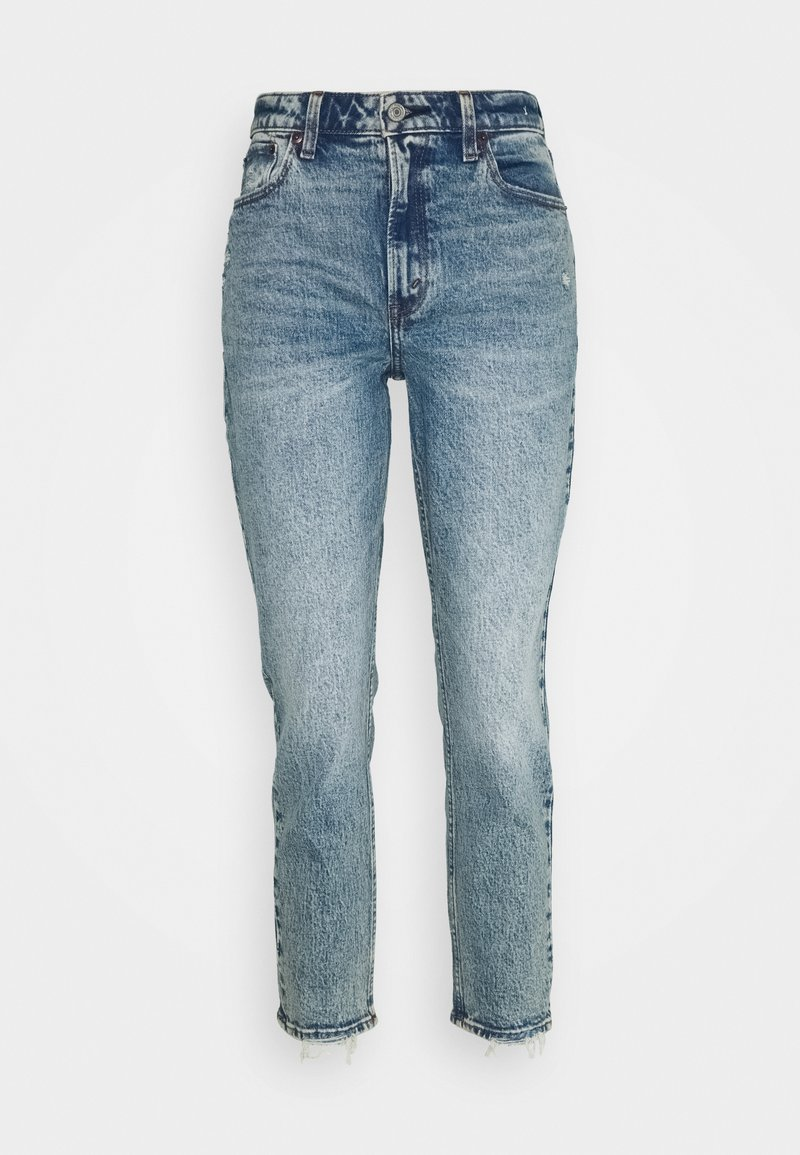 Abercrombie & Fitch - Jeans slim fit - medium destroy