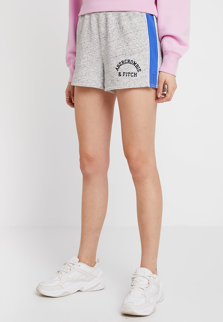 Abercrombie & Fitch - LOGO - Shorts - grey