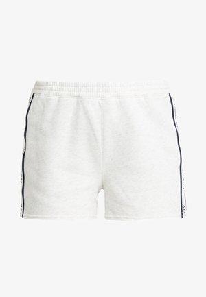 LOGO  - Shorts - cream