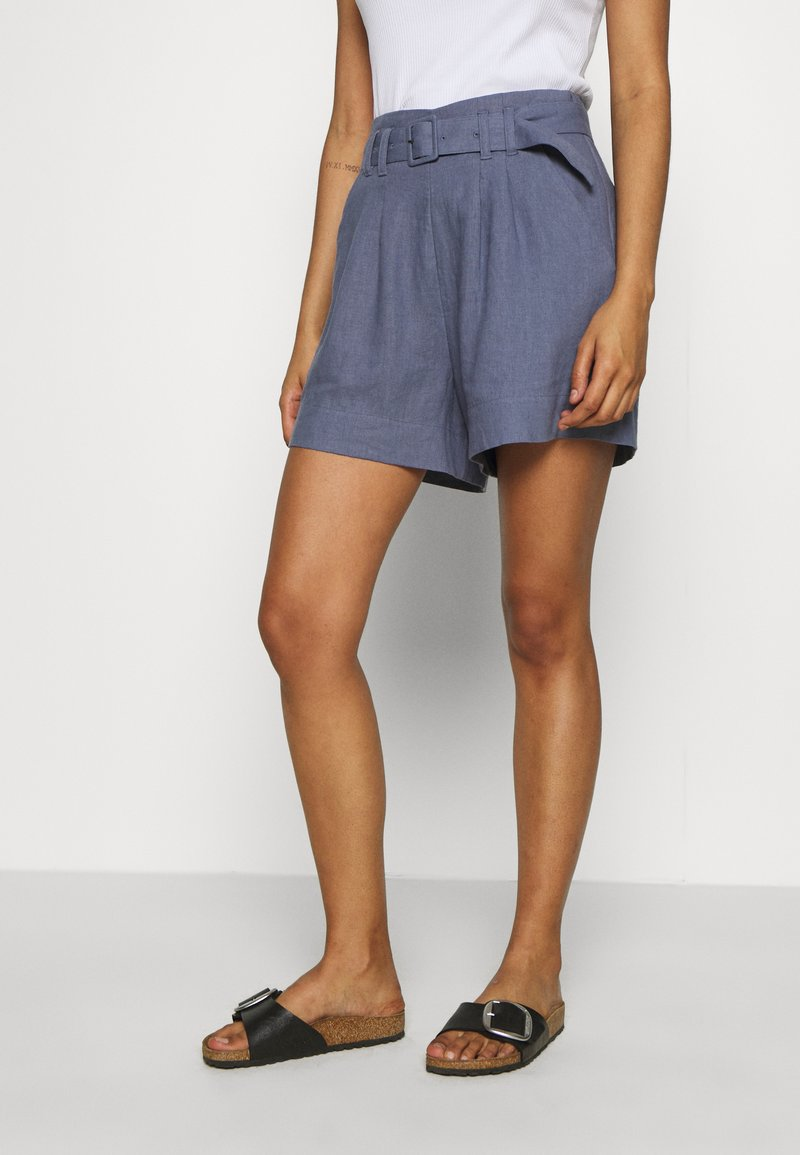 Abercrombie & Fitch - LONG INSEAM - Shorts - grisalle