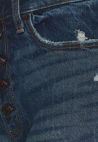 Abercrombie & Fitch - Shorts di jeans - dark blue denim - 2