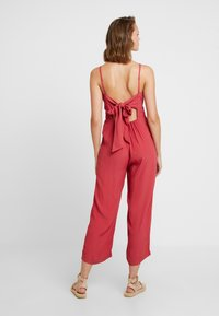 Abercrombie & Fitch - TIE BACK - Overal - red - 2