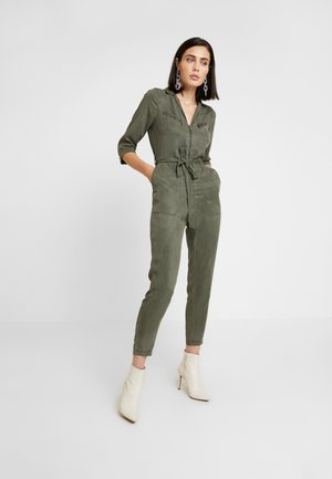 UTILITY WRAP - Tuta jumpsuit - green