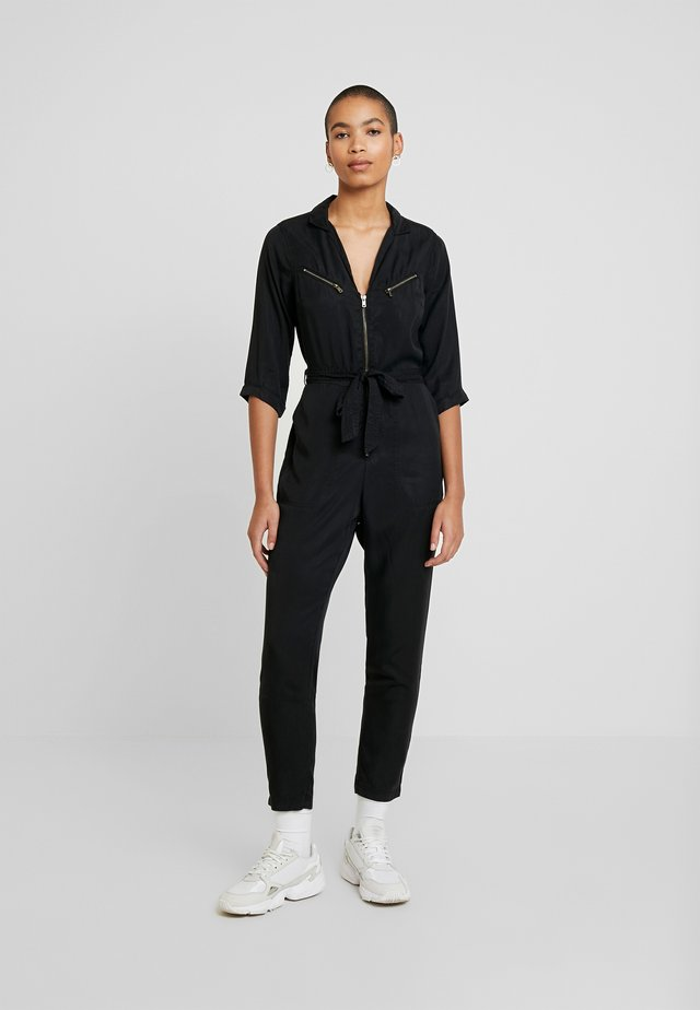 UTILITY WRAP - Jumpsuit - black