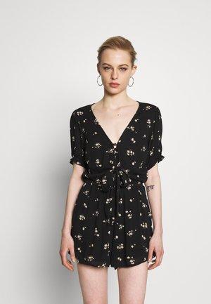 Combinaison - black floral