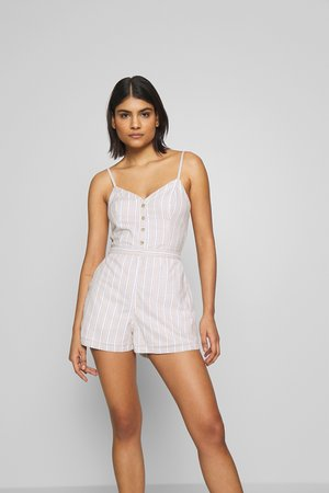 BOWBACK ROMPER - Overal - tan