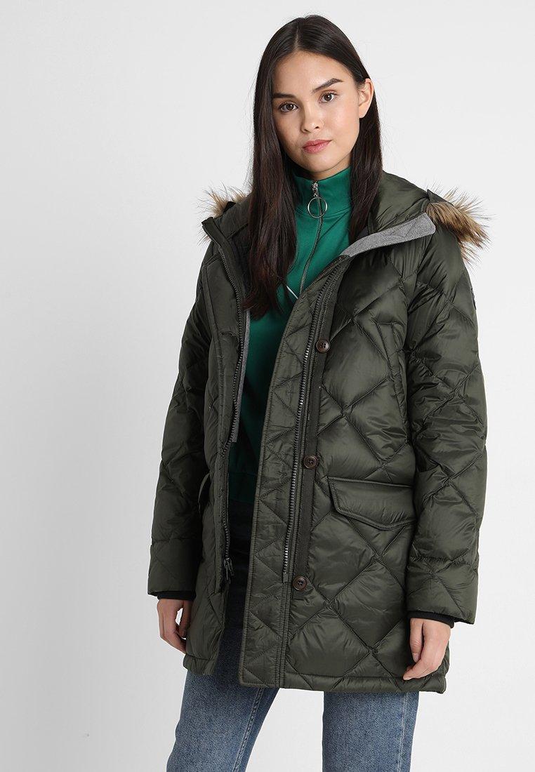 Abercrombie & Fitch - Daunenmantel - green