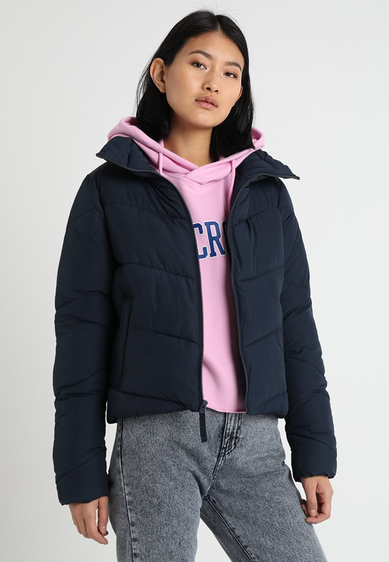 Abercrombie & Fitch - FASHION PUFFER - Winterjacke - navy