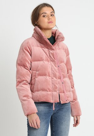 PUFFER COAT - Chaqueta de invierno - light pink