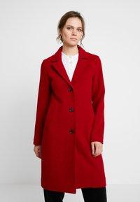 Abercrombie & Fitch - DAD COAT - Classic coat - red - 0