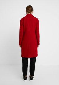 Abercrombie & Fitch - DAD COAT - Classic coat - red - 2