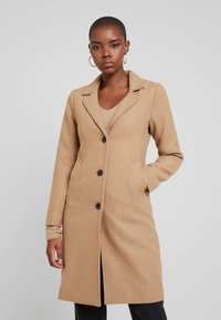 Abercrombie & Fitch - DAD COAT - Cappotto classico - brown plaid - 0