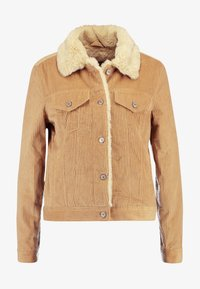 Abercrombie & Fitch - GIRLFRIEND JACKET - Winterjas - brown - 4