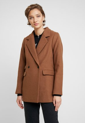 COAT - Cappotto classico - brown plaid