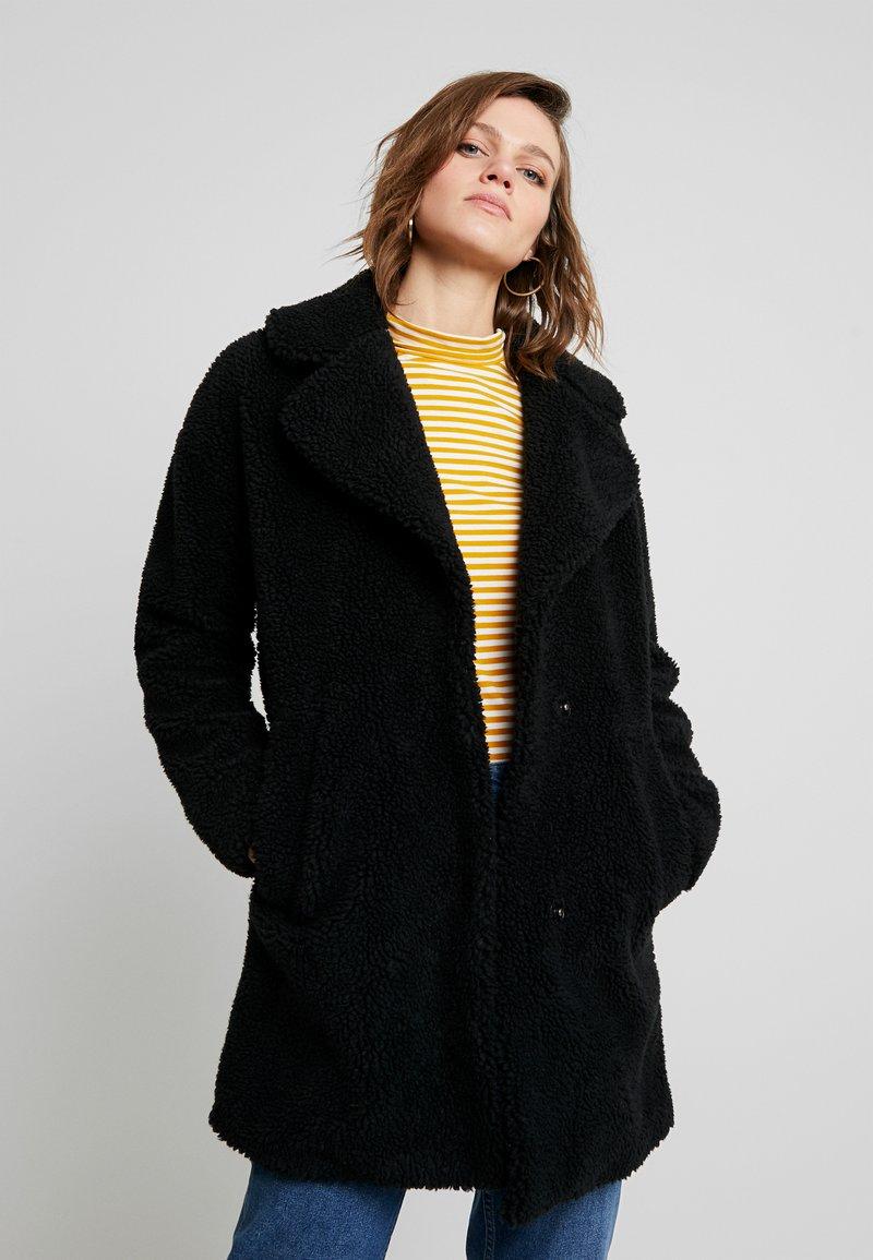 Abercrombie & Fitch - COAT - Winter coat - black