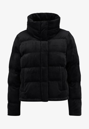 ULTRA CROPPED PUFFER - Vinterjacka - black