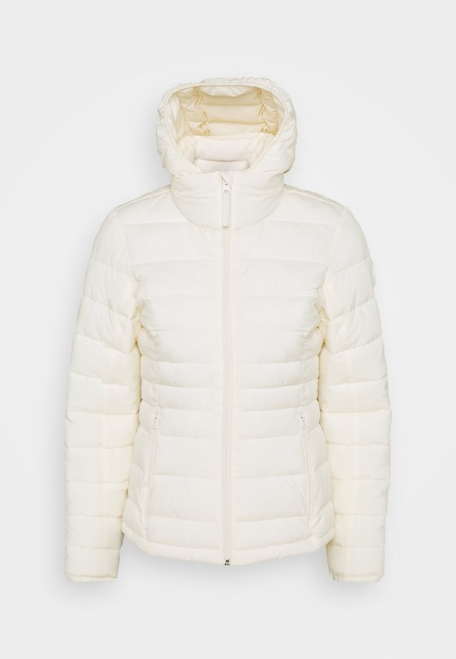 PACKABLE PUFFER POLY - Jas - white