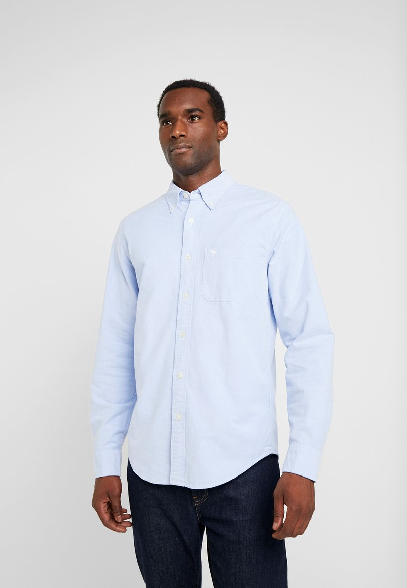 Abercrombie & Fitch - ICON CORE OXFORD - Shirt - light blue