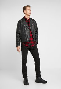 Abercrombie & Fitch - CHECK  - Koszula - red - 1