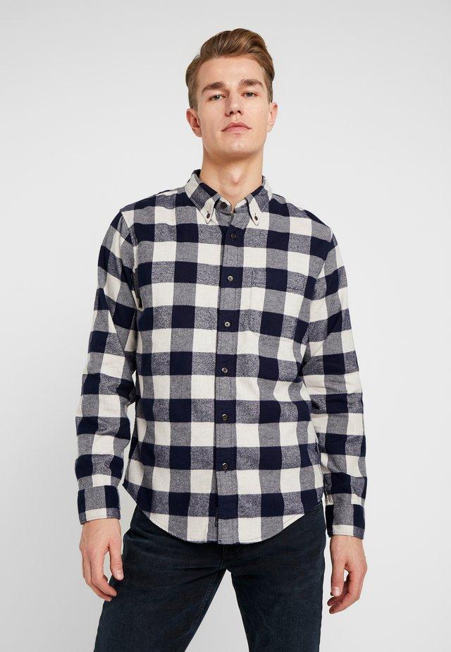 CHECK  - Shirt - navy