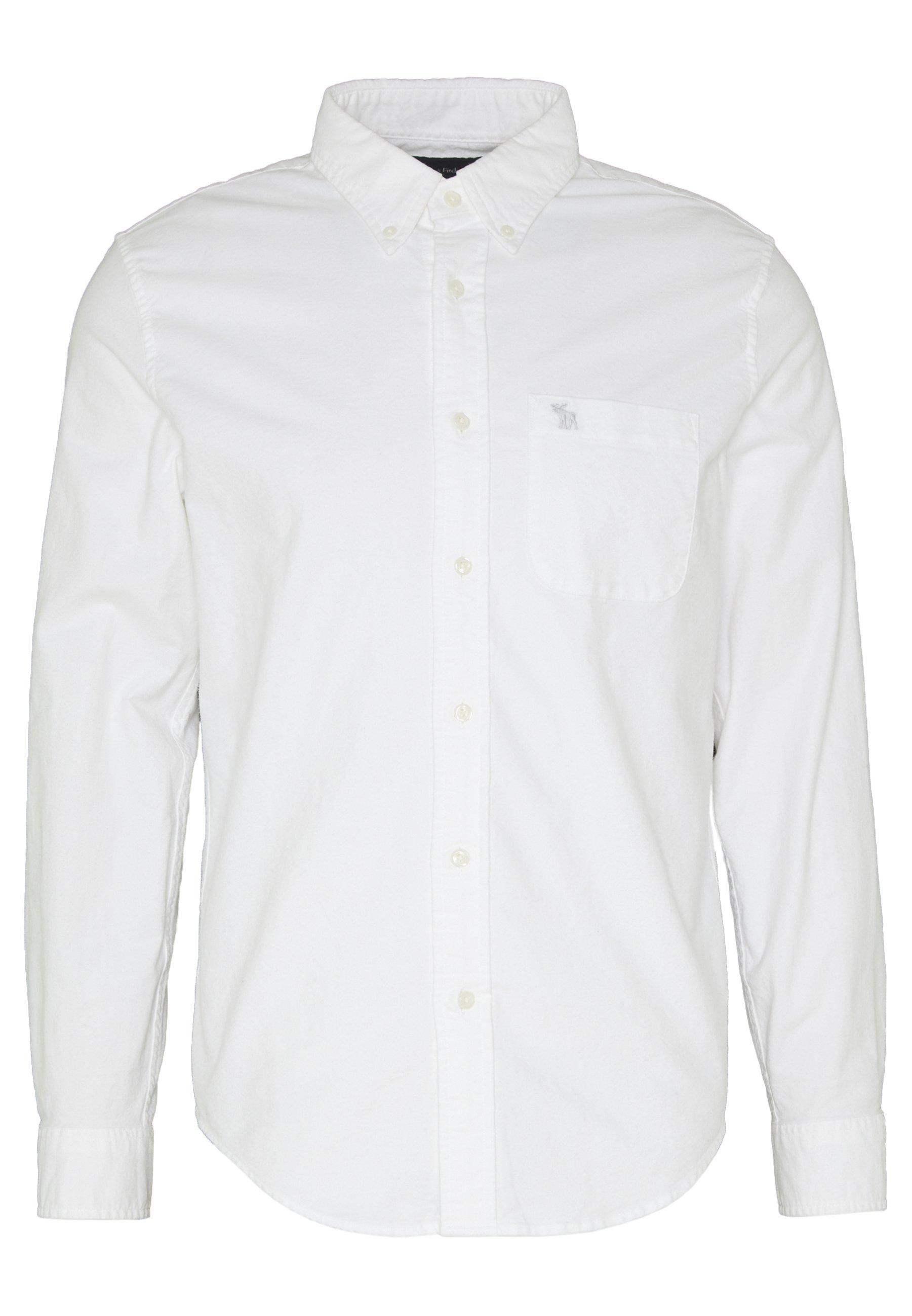 Abercrombie & Fitch ICON CORE OXFORD - Koszula - white
