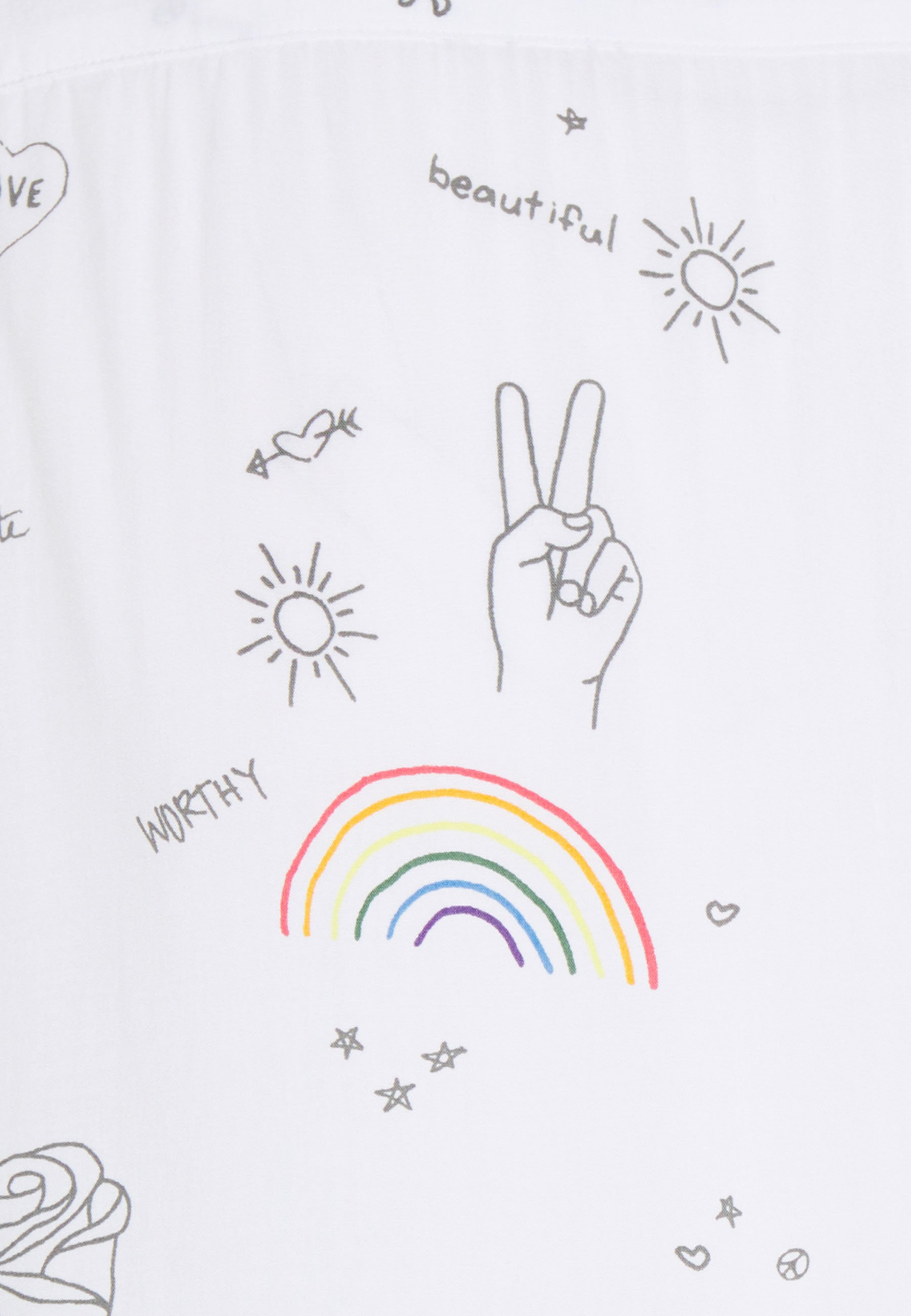 Abercrombie & Fitch Pride Resort - Skjorter White