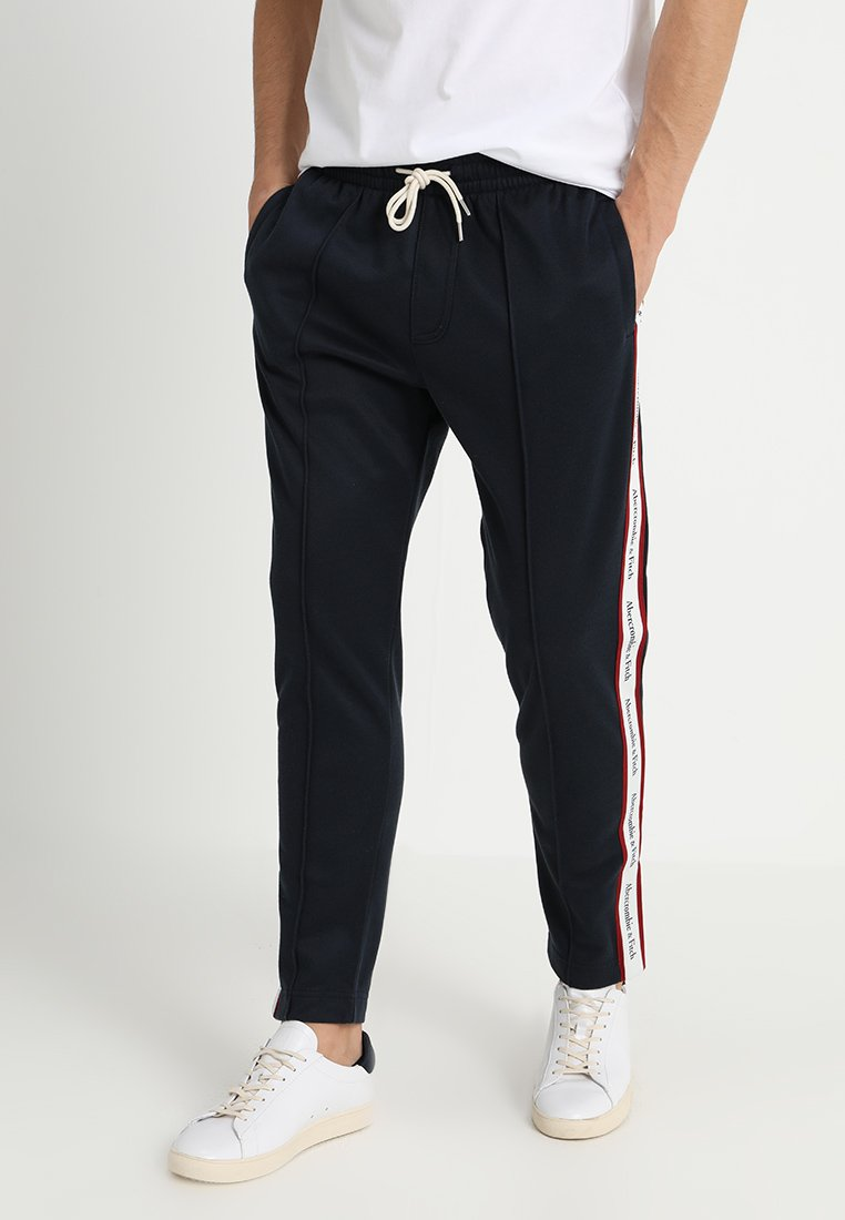 Abercrombie & Fitch - TRACK TAPER - Trainingsbroek - navy