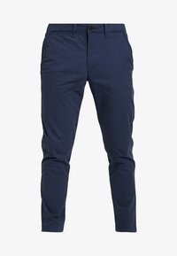 Abercrombie & Fitch - SKINNY - Chinot - navy - 4