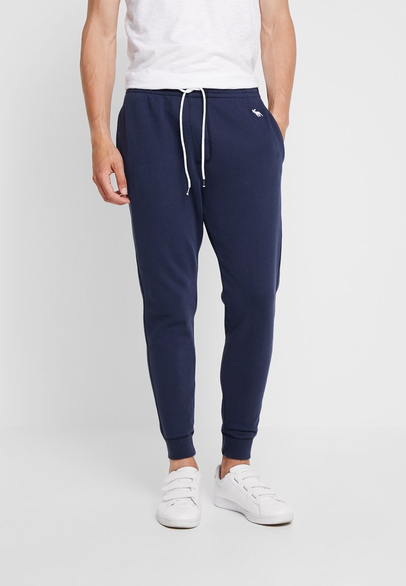 Abercrombie & Fitch - Tracksuit bottoms - navy