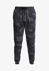 Abercrombie & Fitch - ICON JOGGER  - Tracksuit bottoms - black - 4