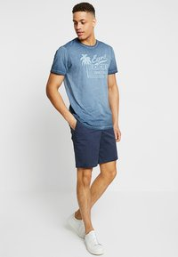 Abercrombie & Fitch - IN NEUTRALS - Shorts - navy - 1
