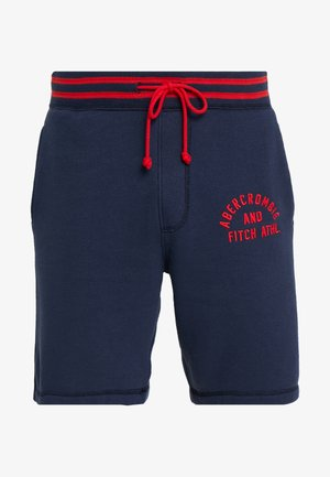 TIPPED APPLIQUE LOGO  - Tracksuit bottoms - navy