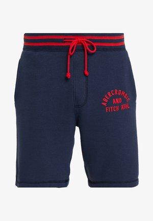 TIPPED APPLIQUE LOGO  - Teplákové kalhoty - navy