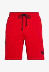 Abercrombie & Fitch - EXPLODED ICON LOGO - Verryttelyhousut - red - 3