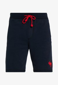 Abercrombie & Fitch - EXPLODED ICON LOGO - Pantalon de survêtement - navy - 3