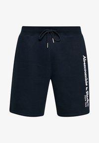 Abercrombie & Fitch - HERITAGE LOGO SHORT - Shorts - blue - 4