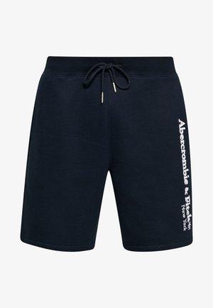 HERITAGE LOGO SHORT - Shorts - blue