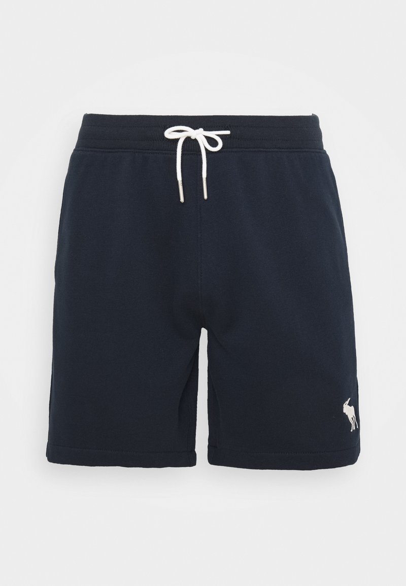 Abercrombie & Fitch - EXPLODED ICON - Tracksuit bottoms - dark blue