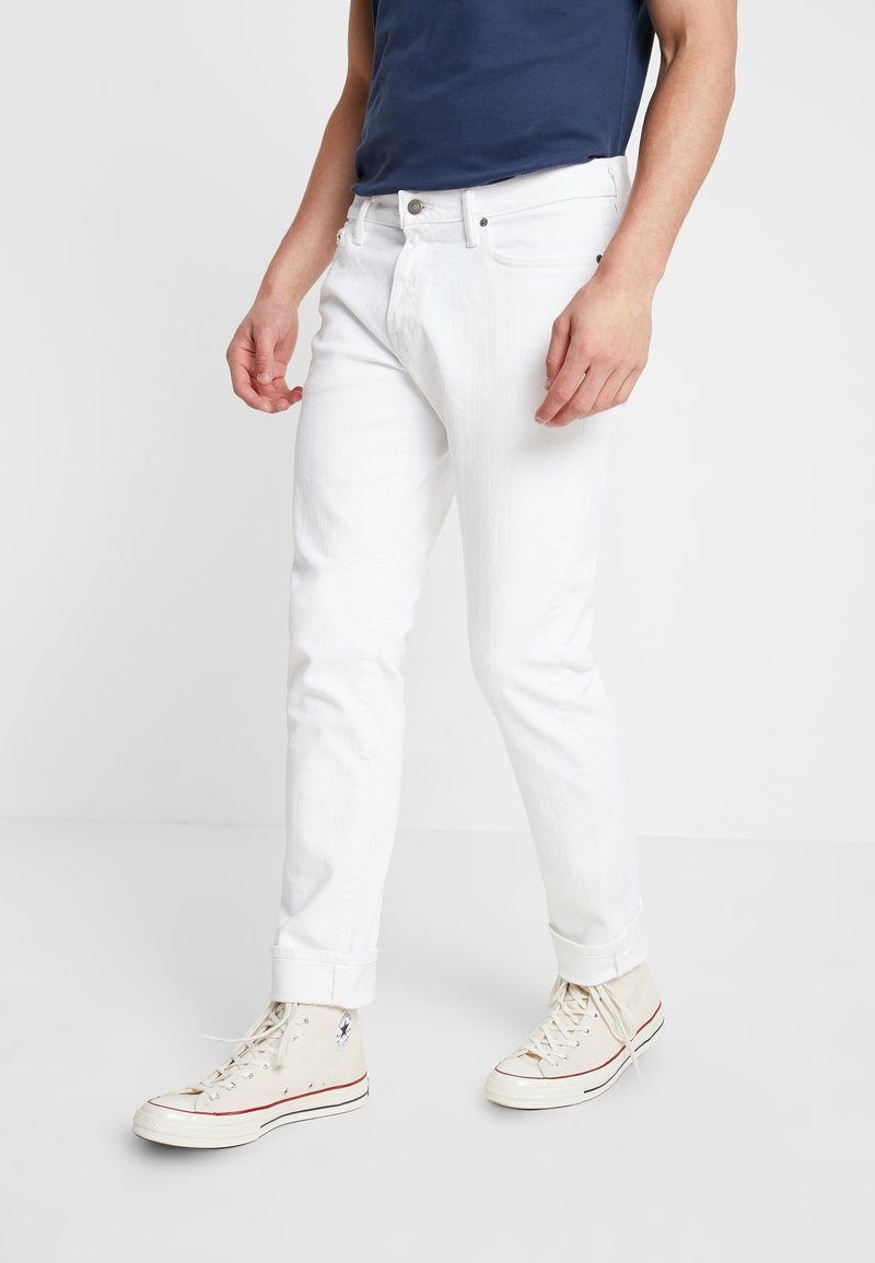 Abercrombie & Fitch - Jeans Slim Fit - white