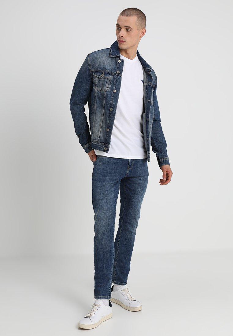 Abercrombie & Fitch - 3 PACK - Camiseta básica - blue/white/grey